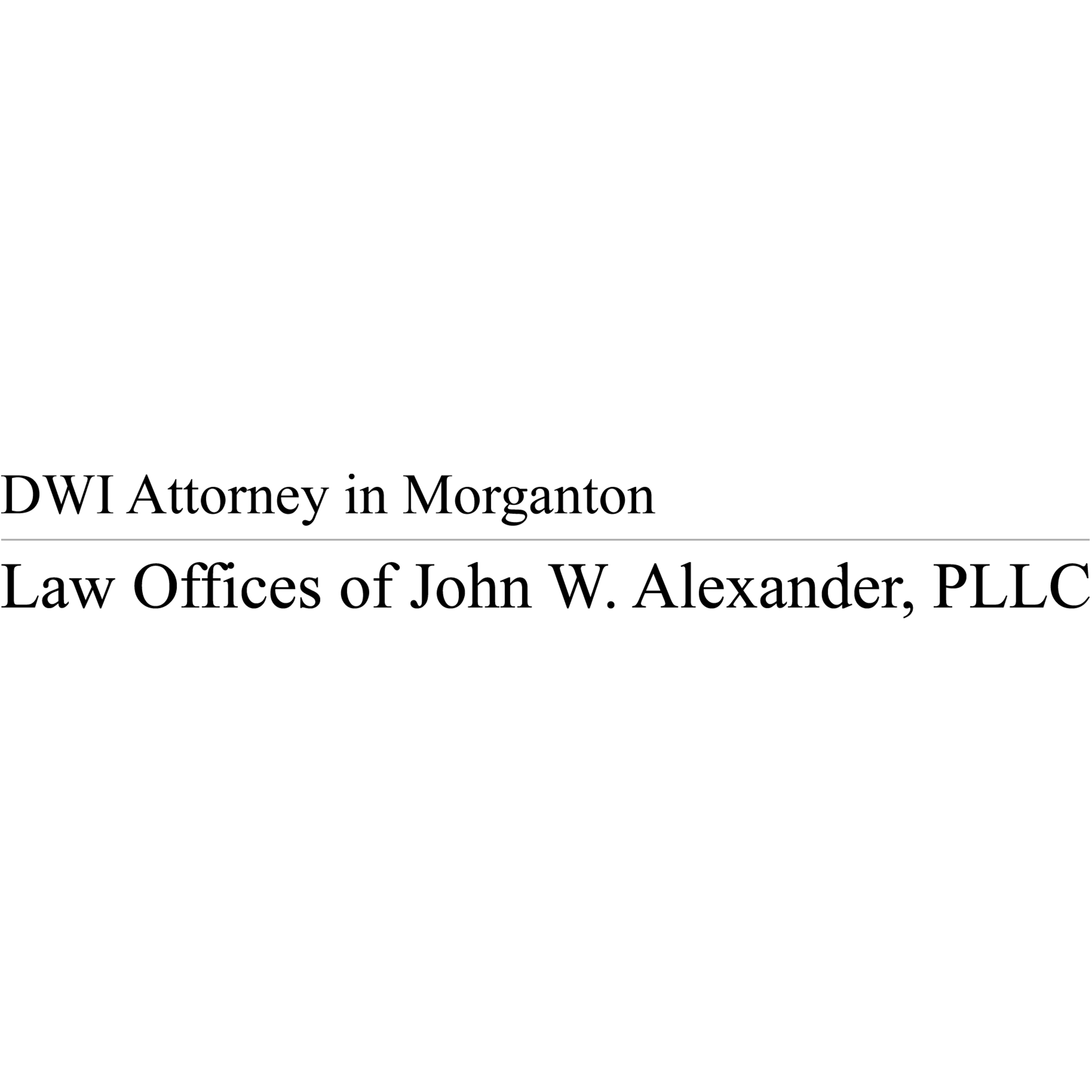 Law Offices of John W. Alexander