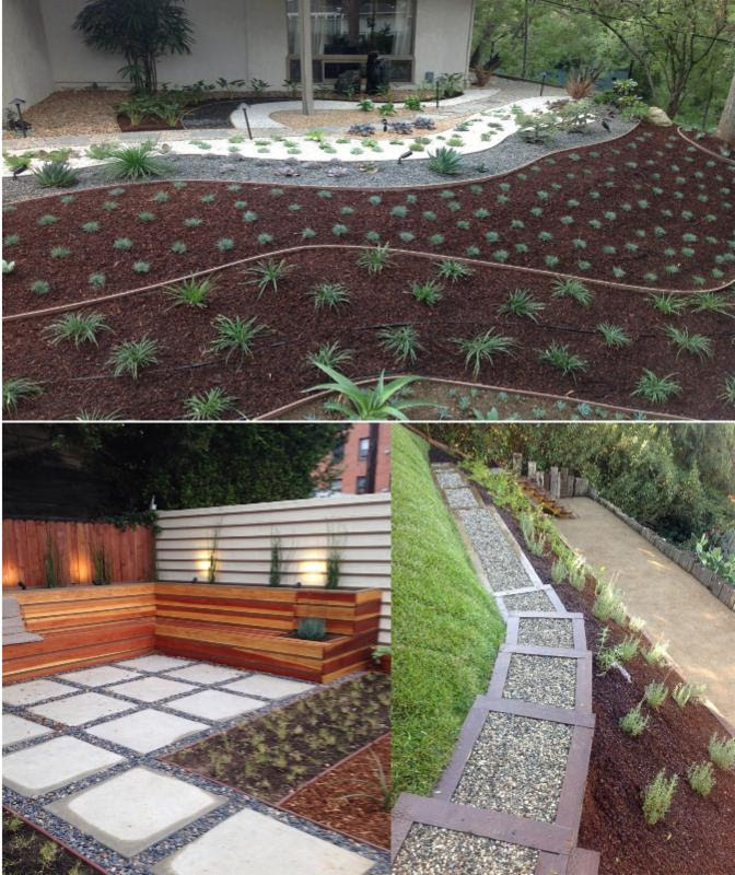 Flores landscaping in los angeles ca 323 666 3 for Landscaping rocks in los angeles