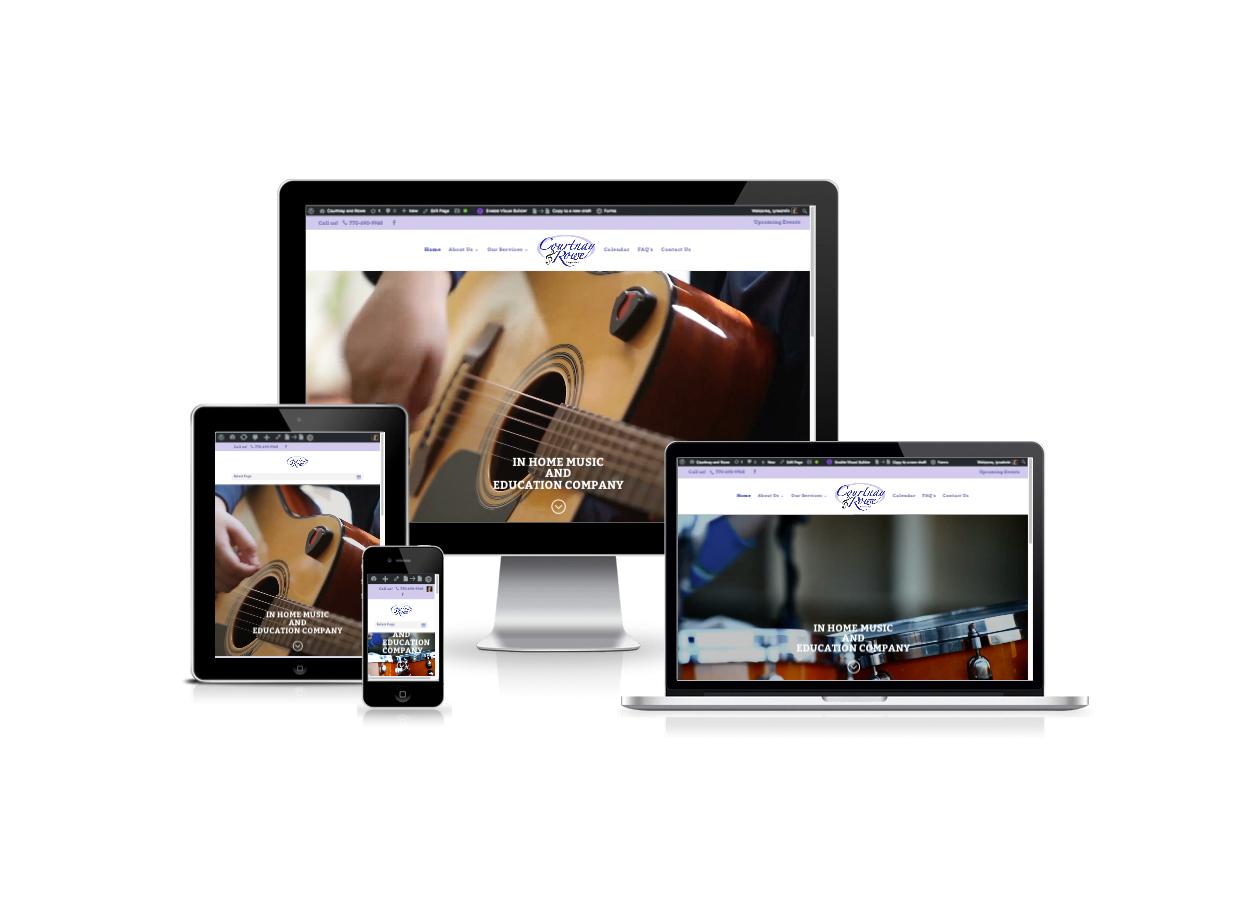Web Design for Music Schools