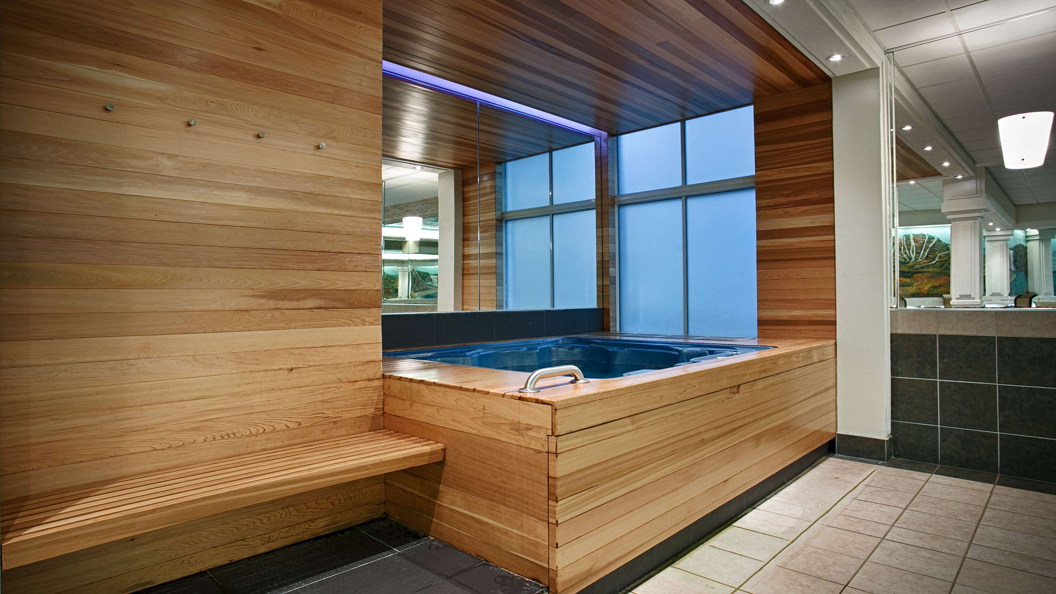 Best Western Plus City Centre/Centre-Ville à Quebec: Hot Tub