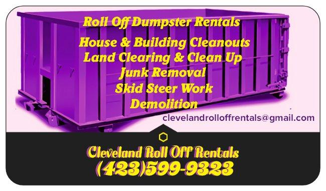 Cleveland Roll Off Rentals