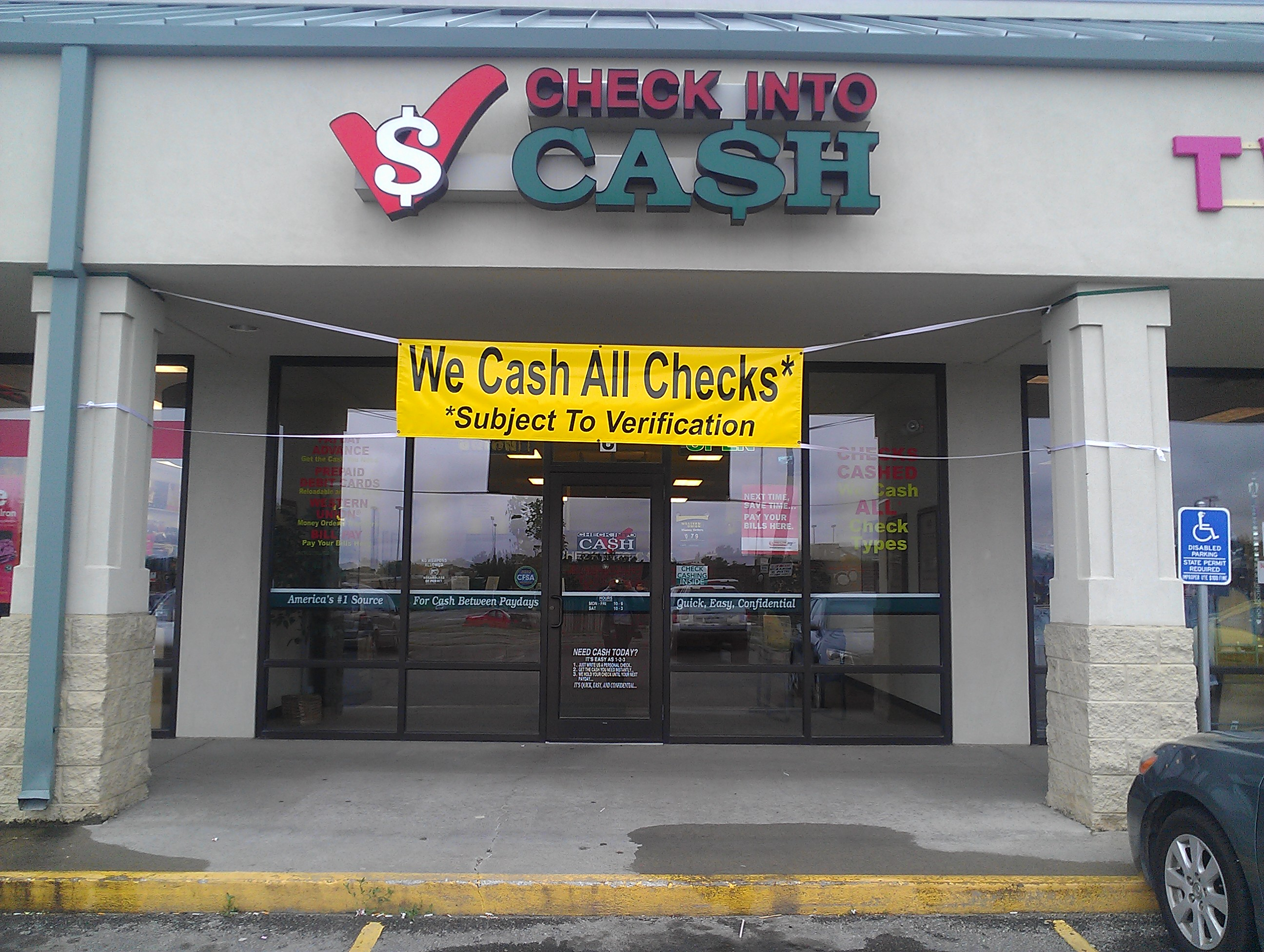 Check Into Cash In Marshalltown Ia 641 752 2