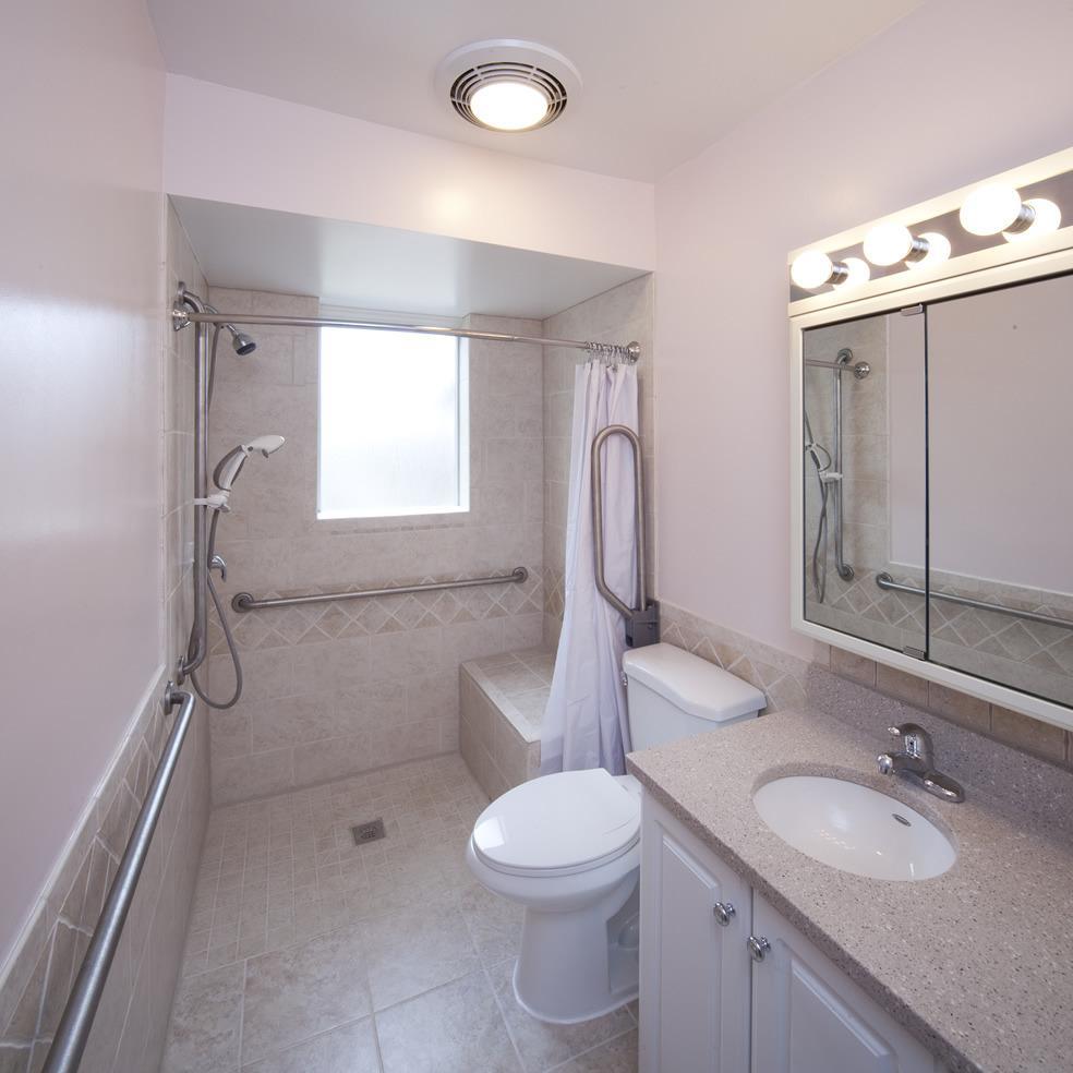 Handicap Bathroom Showers: Bath Crest Home Solutions