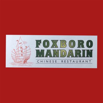 Foxboro Mandarin Chinese Restaurant