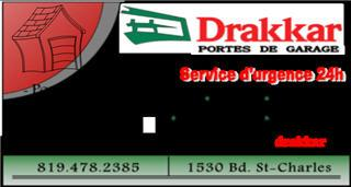 Drakkar à Drummondville