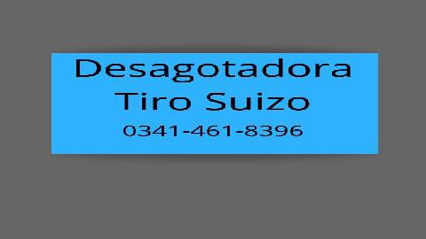 DESAGOTADORA TIRO SUIZO