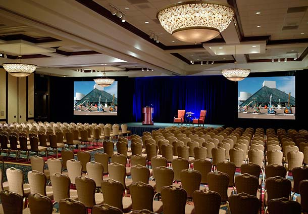 Our newly renovated Grand Ballroom offers 9,746 square feet of flexible meeting space.