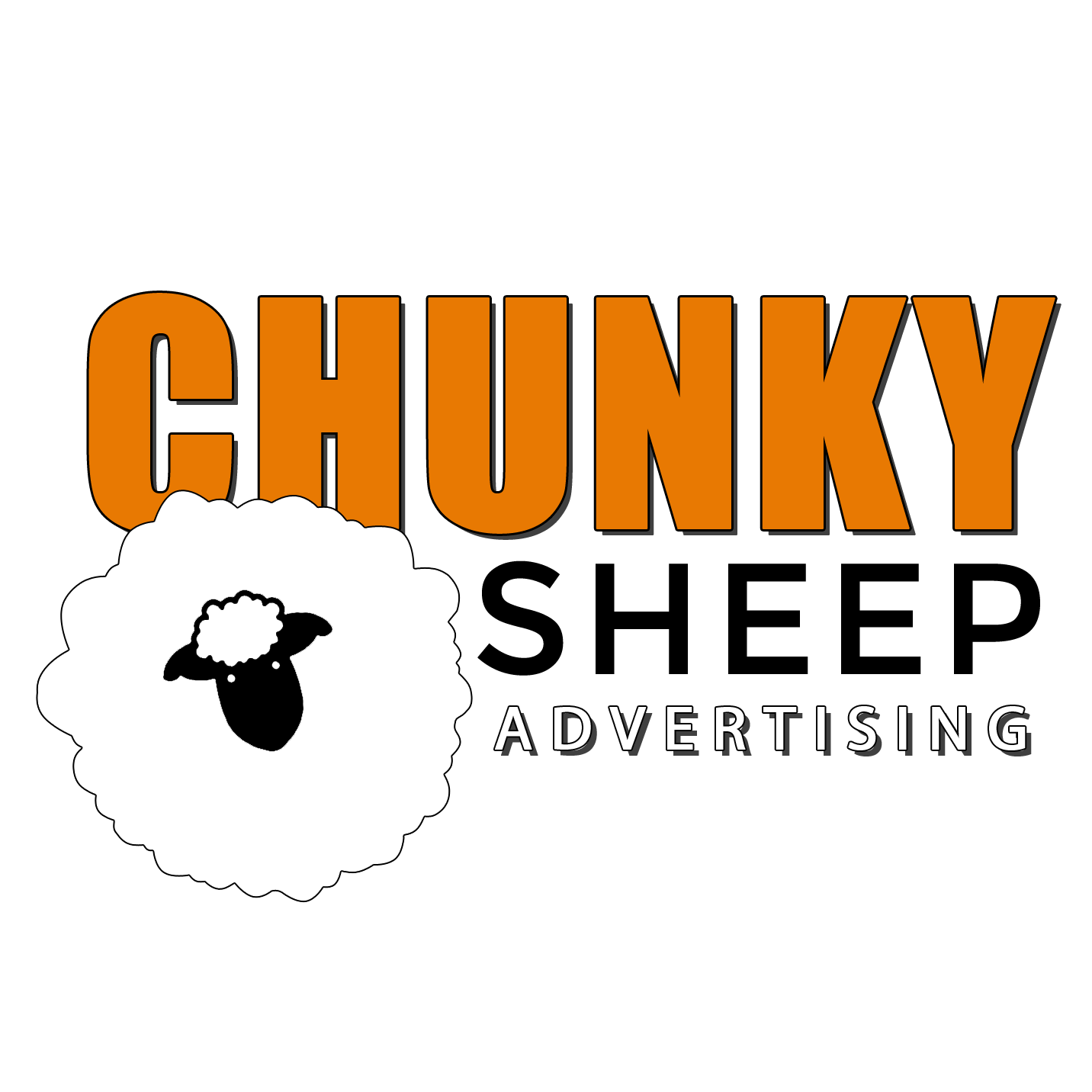 Chunky Sheep Advertising