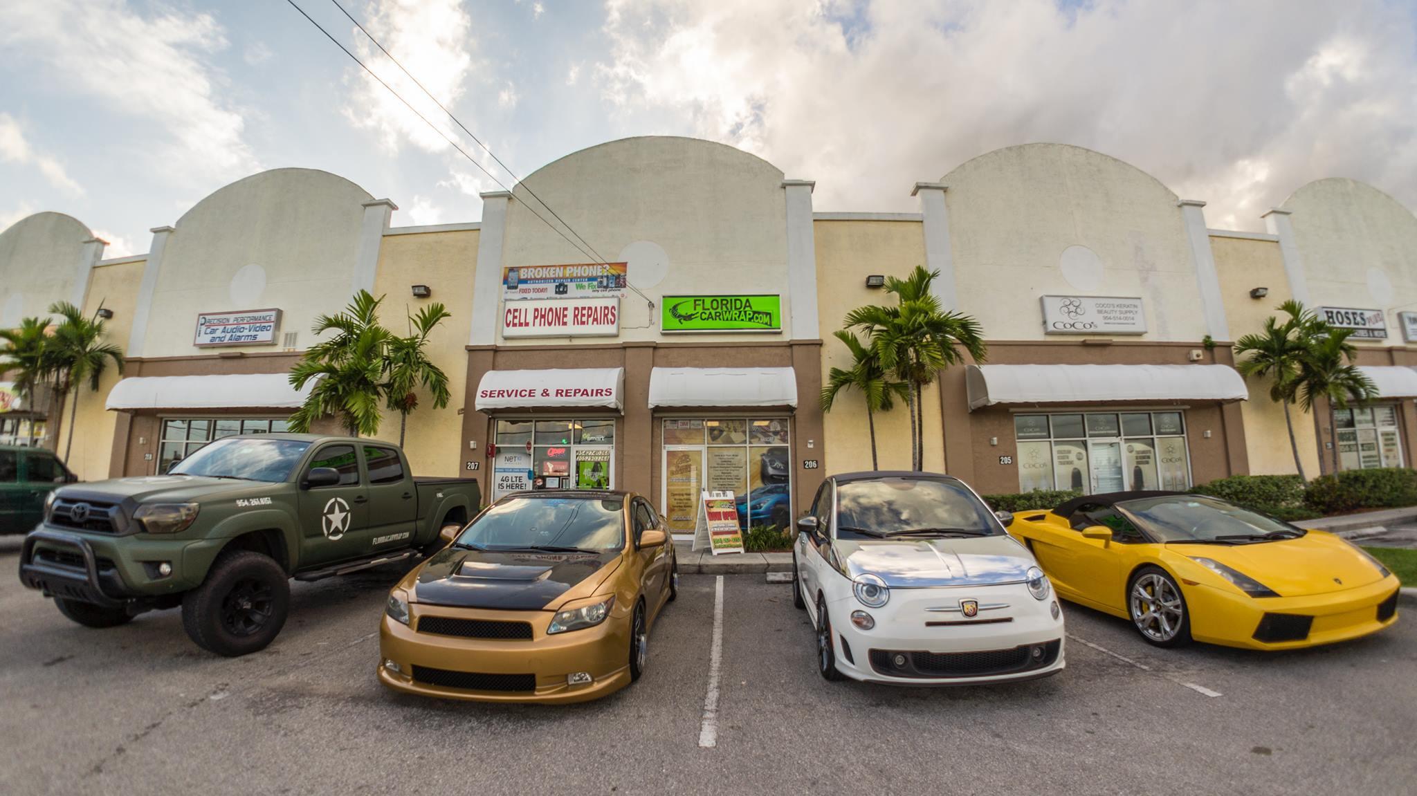 Florida Car Wrap image 2