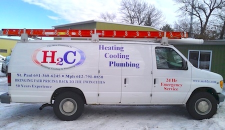 H2C Heating, Cooling and Plumbing image 0