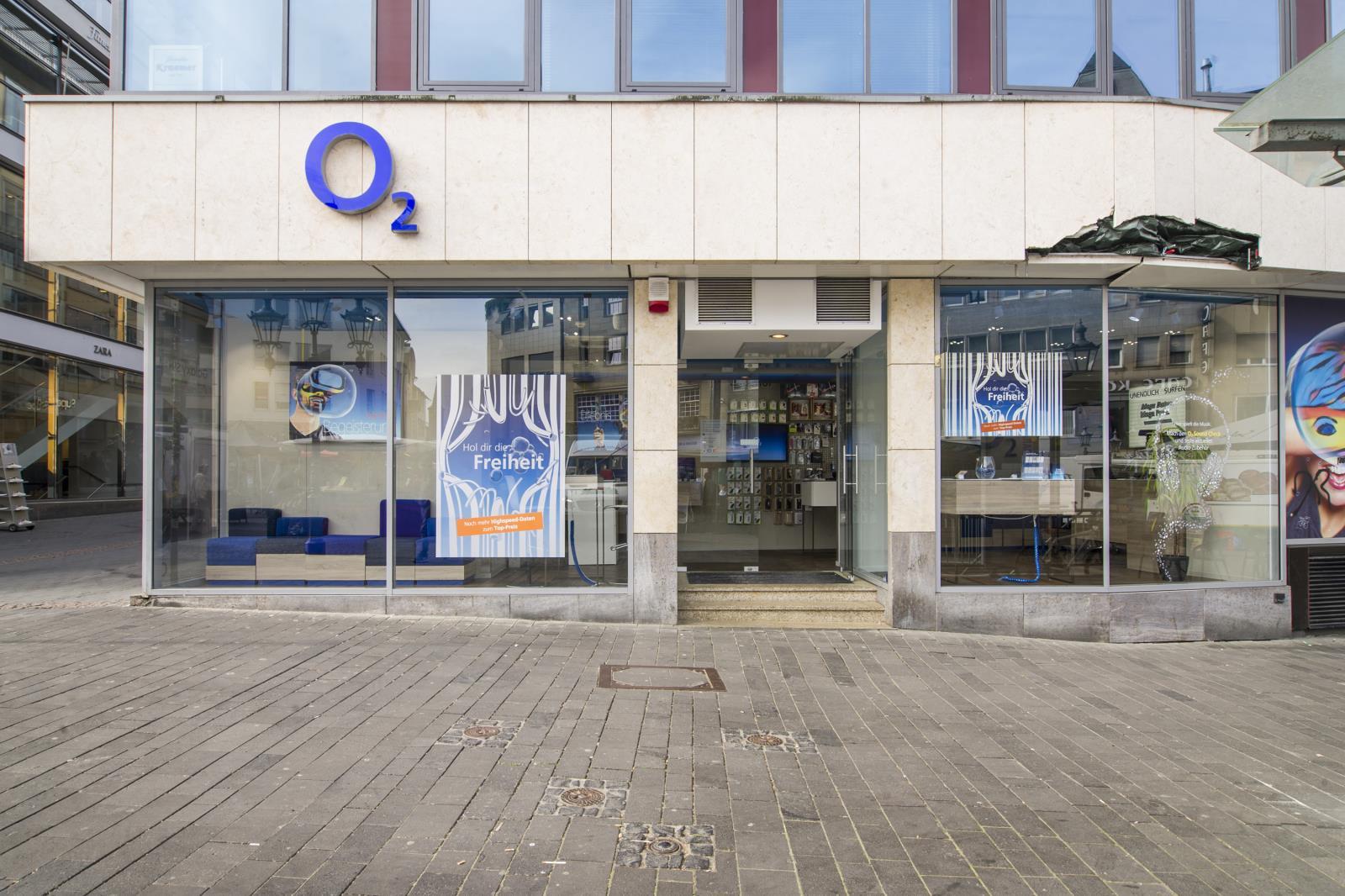 o2 Shop, Markt 23-27 in Bonn