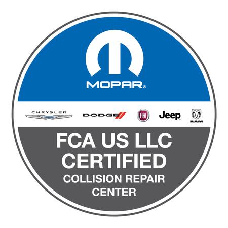 FCA US LLC Certified Collision Repair Center