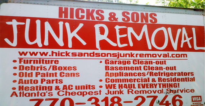 Hicks and Sons Junk Removal