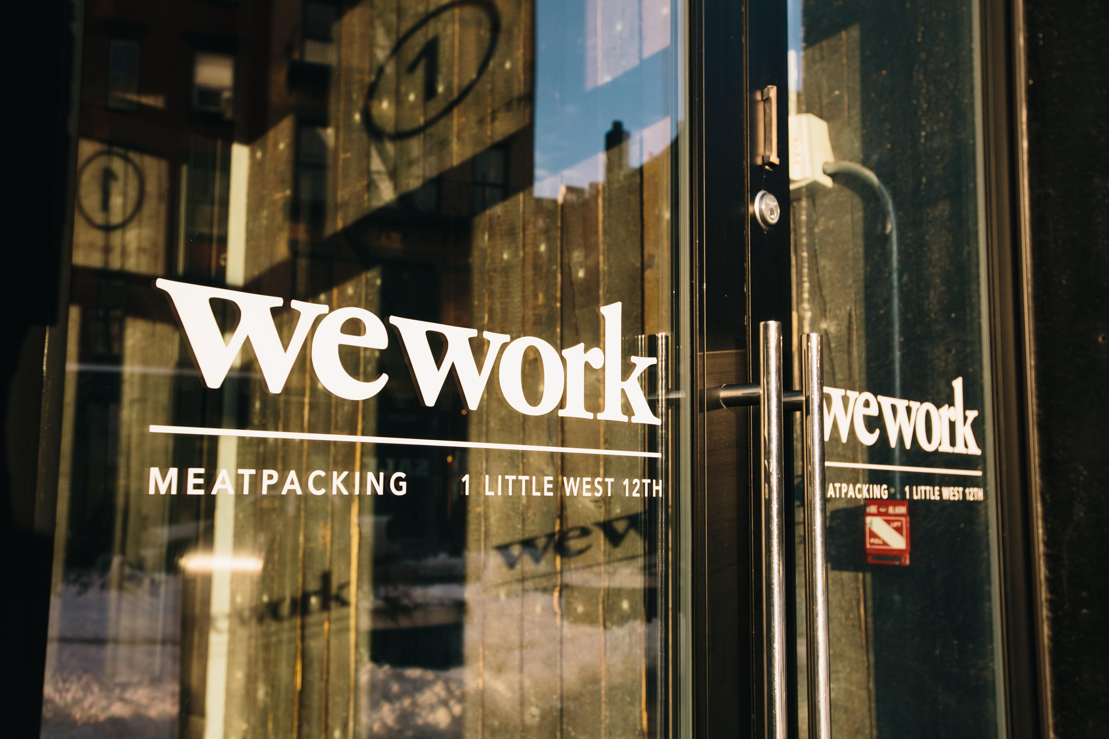 One Little West 12th Street Subway Map.Wework 1 Little West 12th Street New York Ny Office Desk Space
