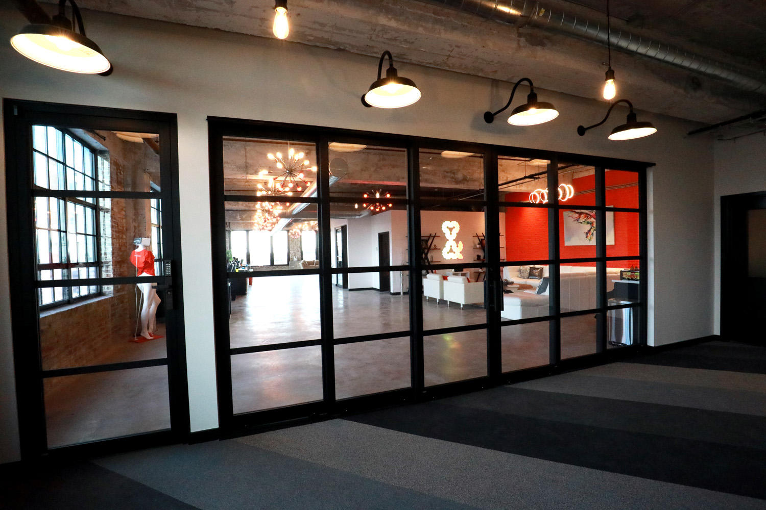 The interior of Web Design and Company, a St Louis Digital Marketing agency.