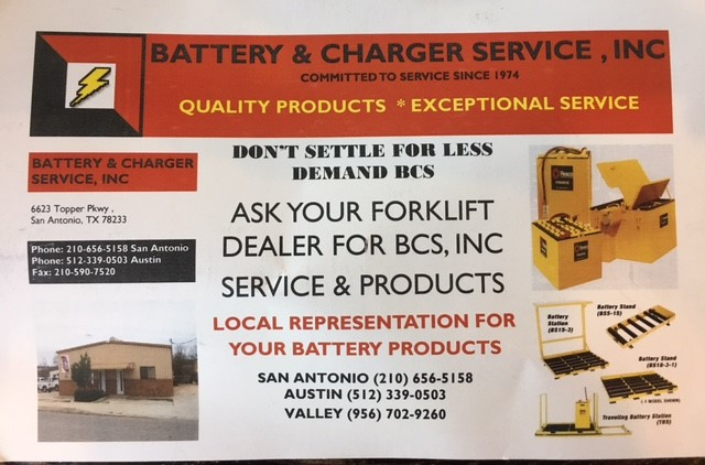 Battery & Charger Service, Inc. image 6