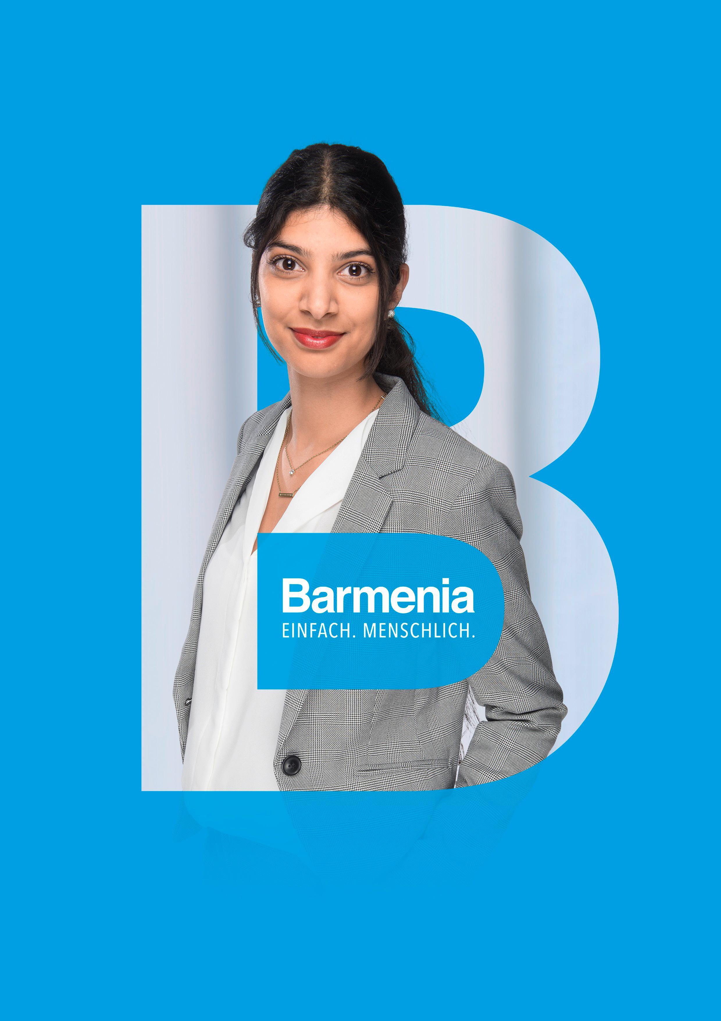 Priya Multani. Ihre Ansprechpartnerin für die Barmenia Versicherung in Stuttgart.