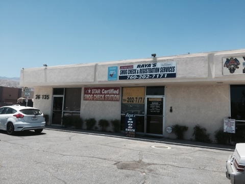 rayas smog check registration cathedral city ca business page. Black Bedroom Furniture Sets. Home Design Ideas