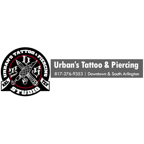 urban 39 s tattoo piercing studio in arlington tx 76015