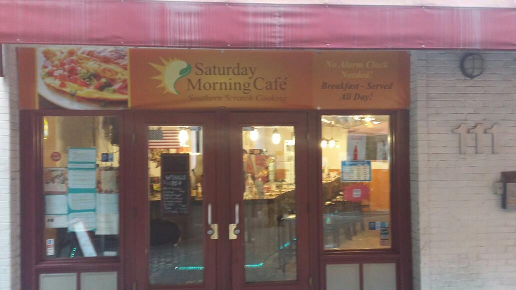 Saturday Morning  Cafe