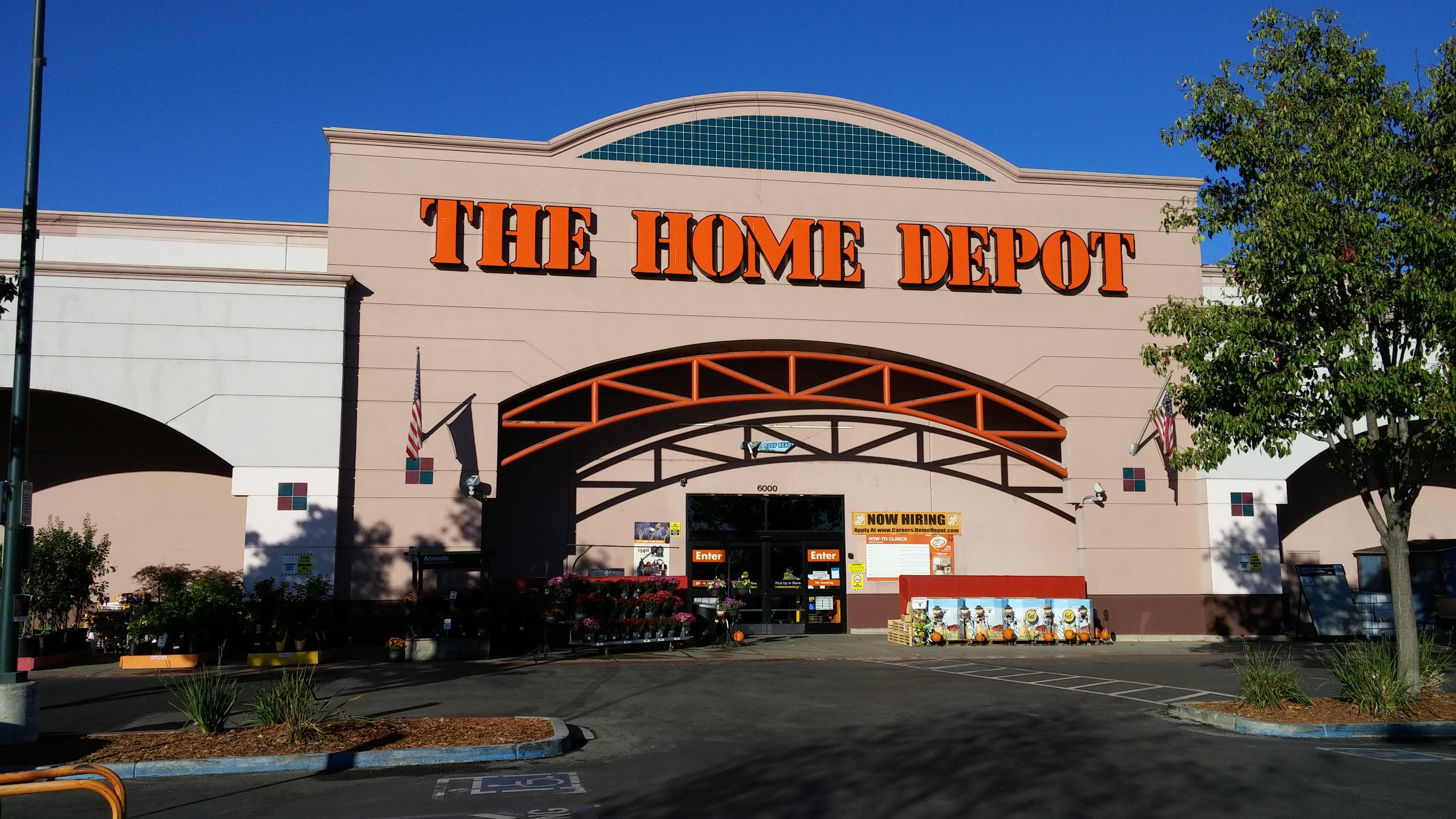 The Home Depot 6000 Johnson Dr Pleasanton, CA Hardware