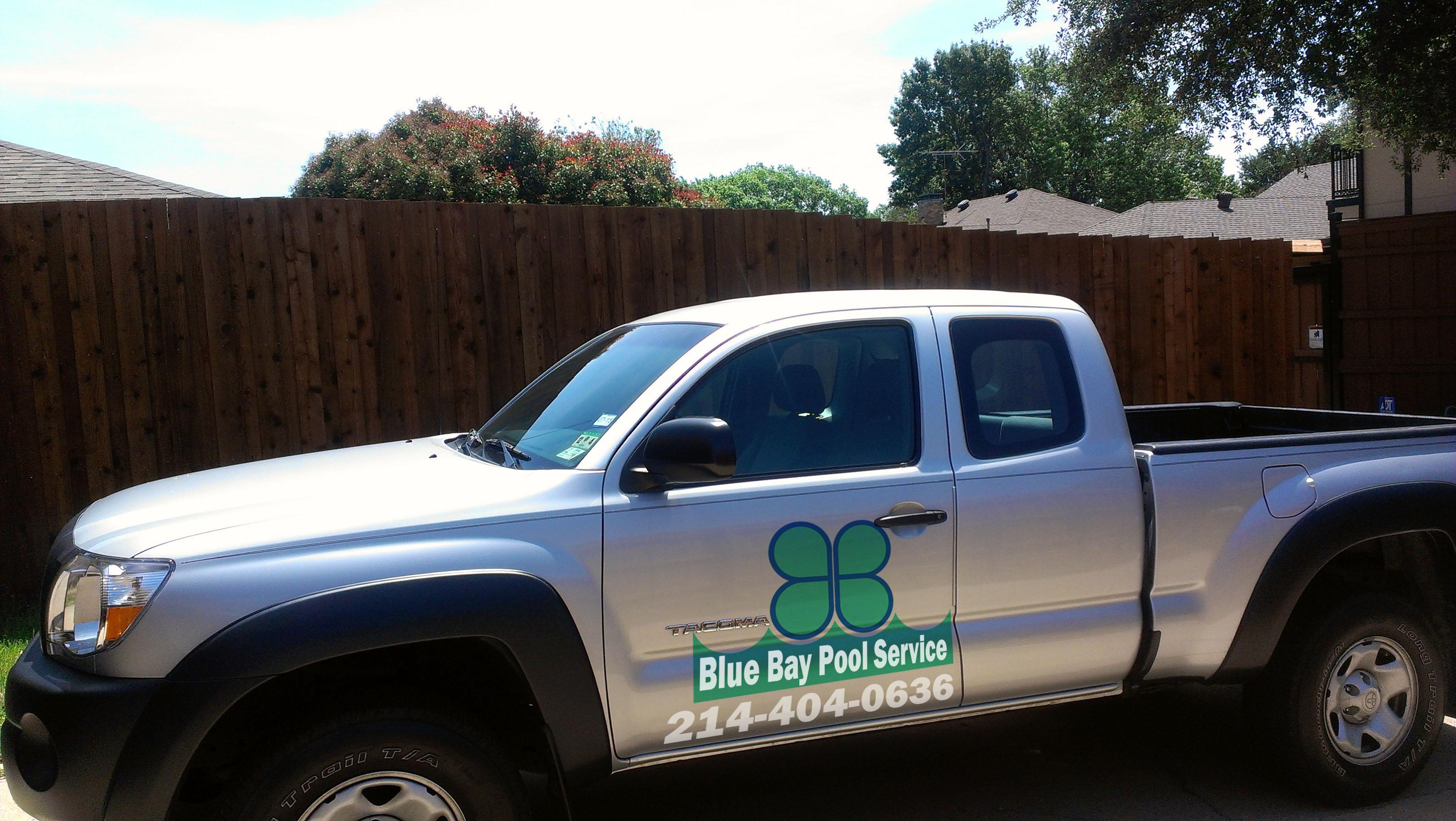 Blue Bay Pool Service - ad image