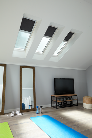 Bonus Room Conversion using VELUX Skylights. Contact Mountview Skylights and Roof Repair to learn more.