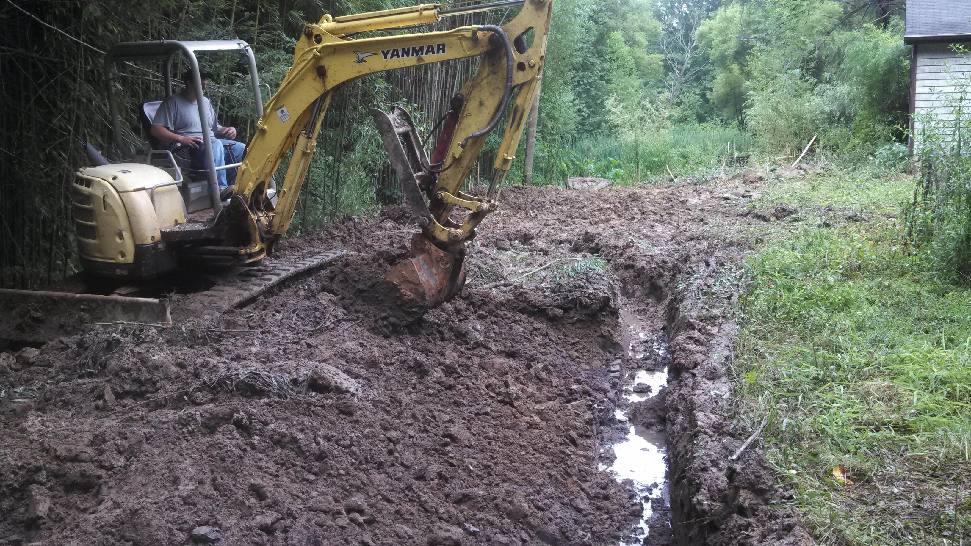 Backwoods Grading Landscape & Excavation - ad image