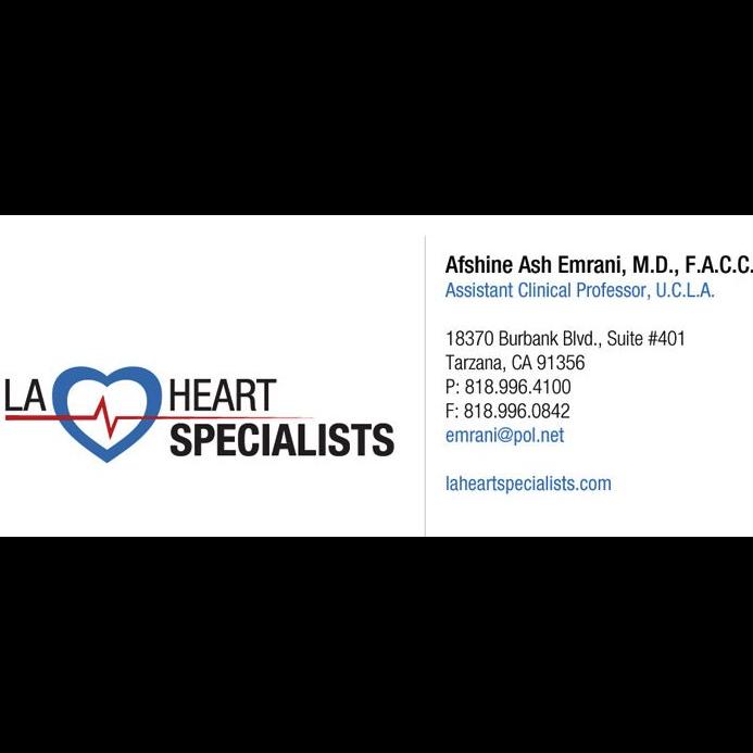 LA Heart Specialist: Dr. Afshine Emrani, MD