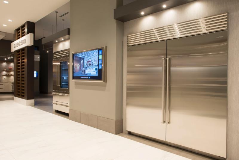Trail Appliances in Richmond: The entrance to the Subzero kitchen.