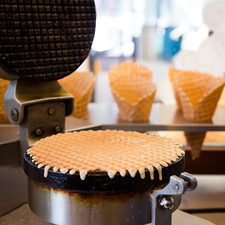 Ben & Jerry's Freshly Baked Waffle Cone