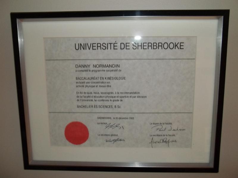 Clinique de Kinésiologie et d'Orthothérapie Universitaire Danny Normandin