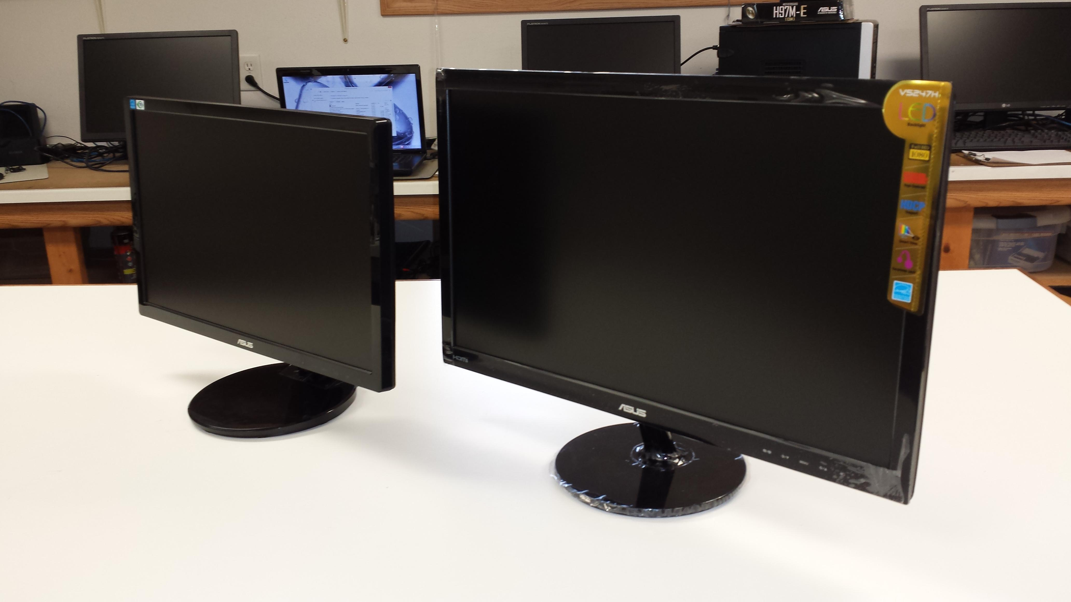 We offer a variety of computer monitors to meet your size and budget needs.