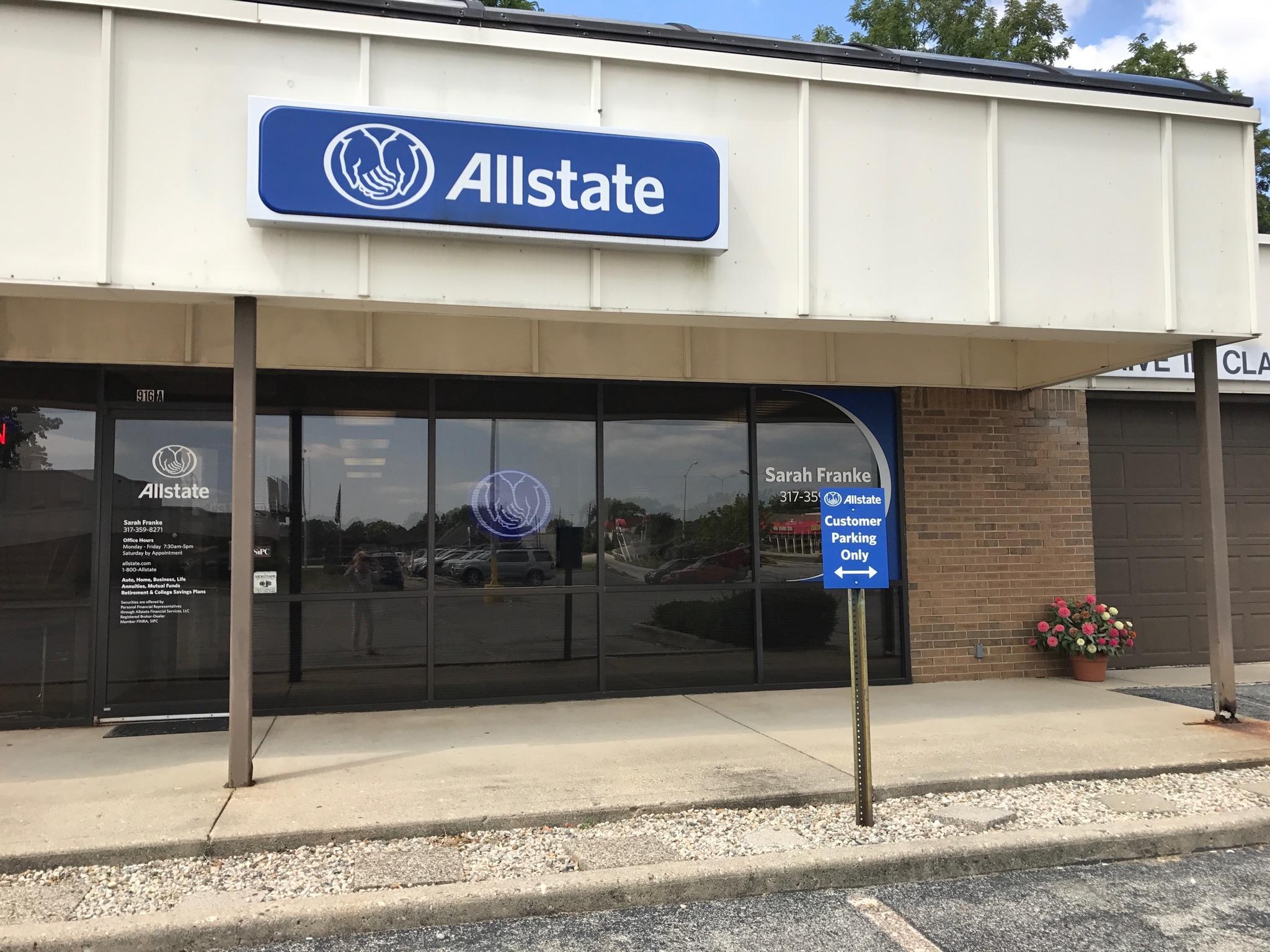 Allstate Insurance Agent: Sarah Franke