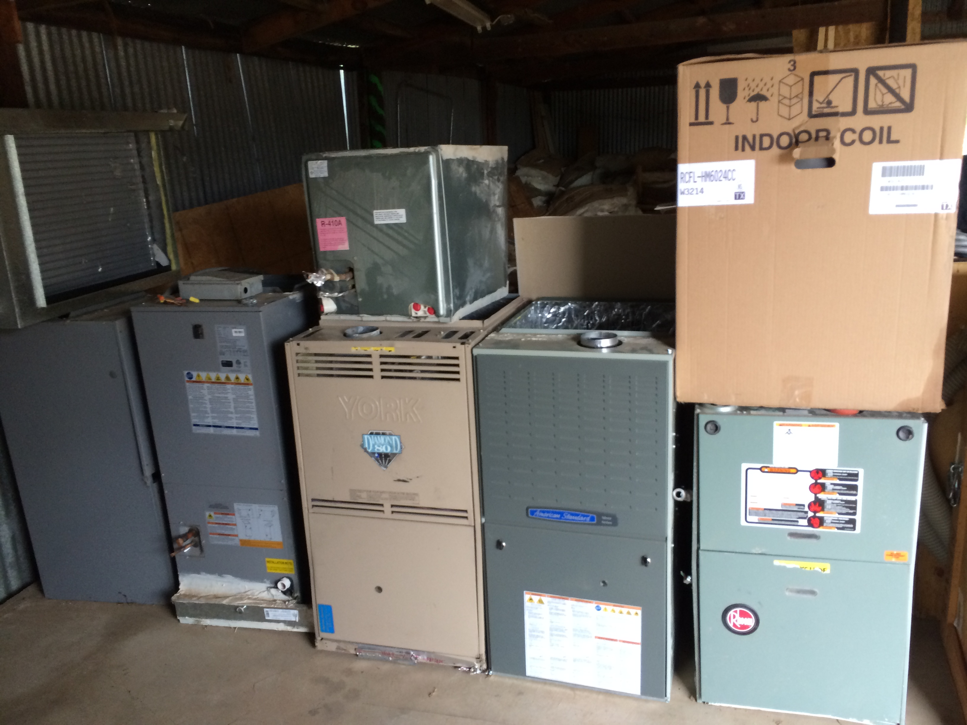 We do sell new and used equipment