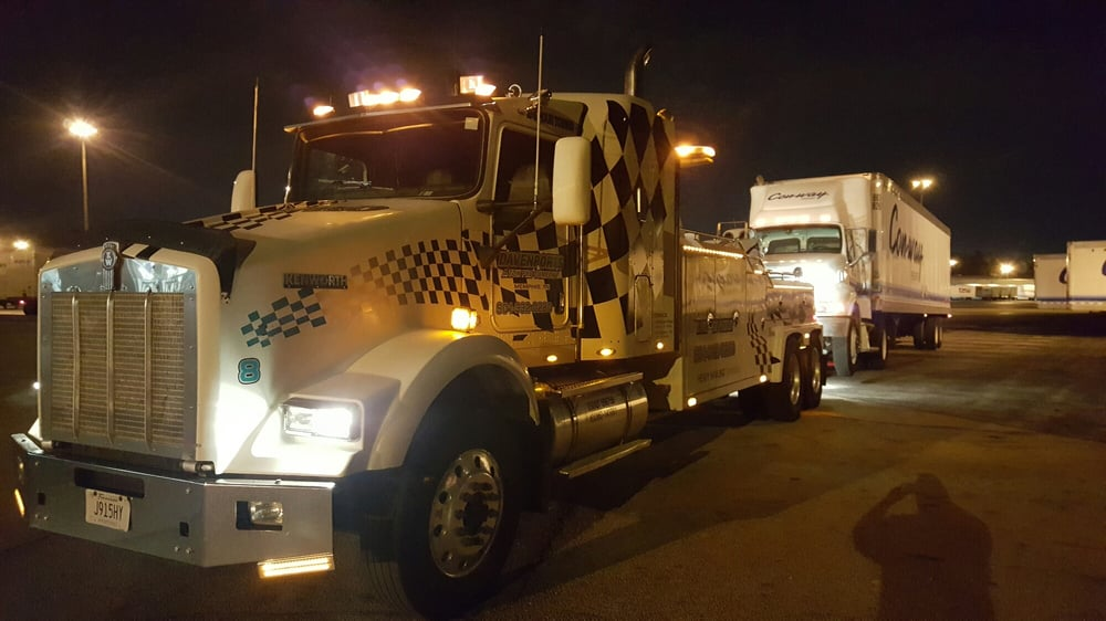 Davenport's offers 24 hour towing