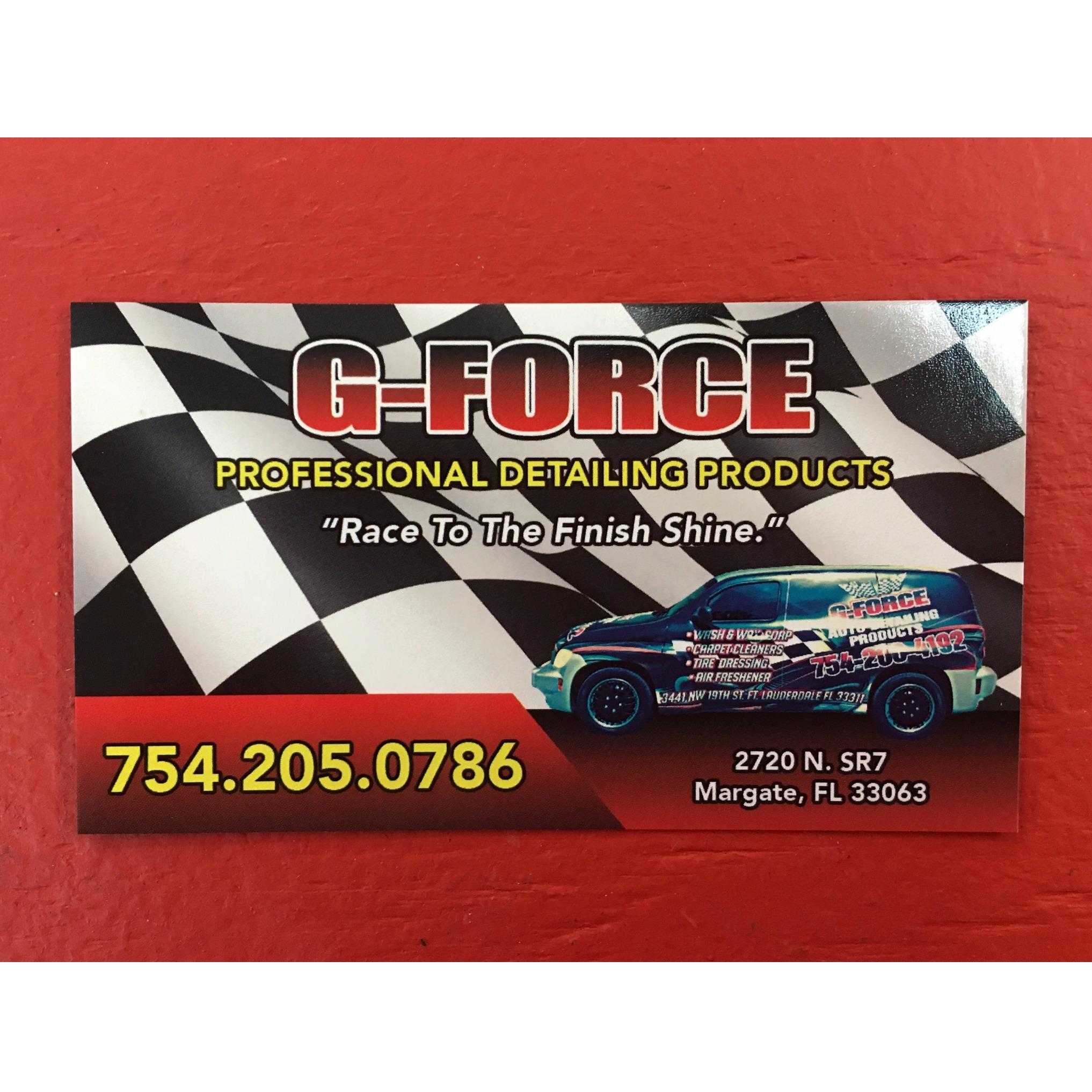 G-Force Auto Detailing Products - Margate, FL 33063 - (754)205-0786 | ShowMeLocal.com