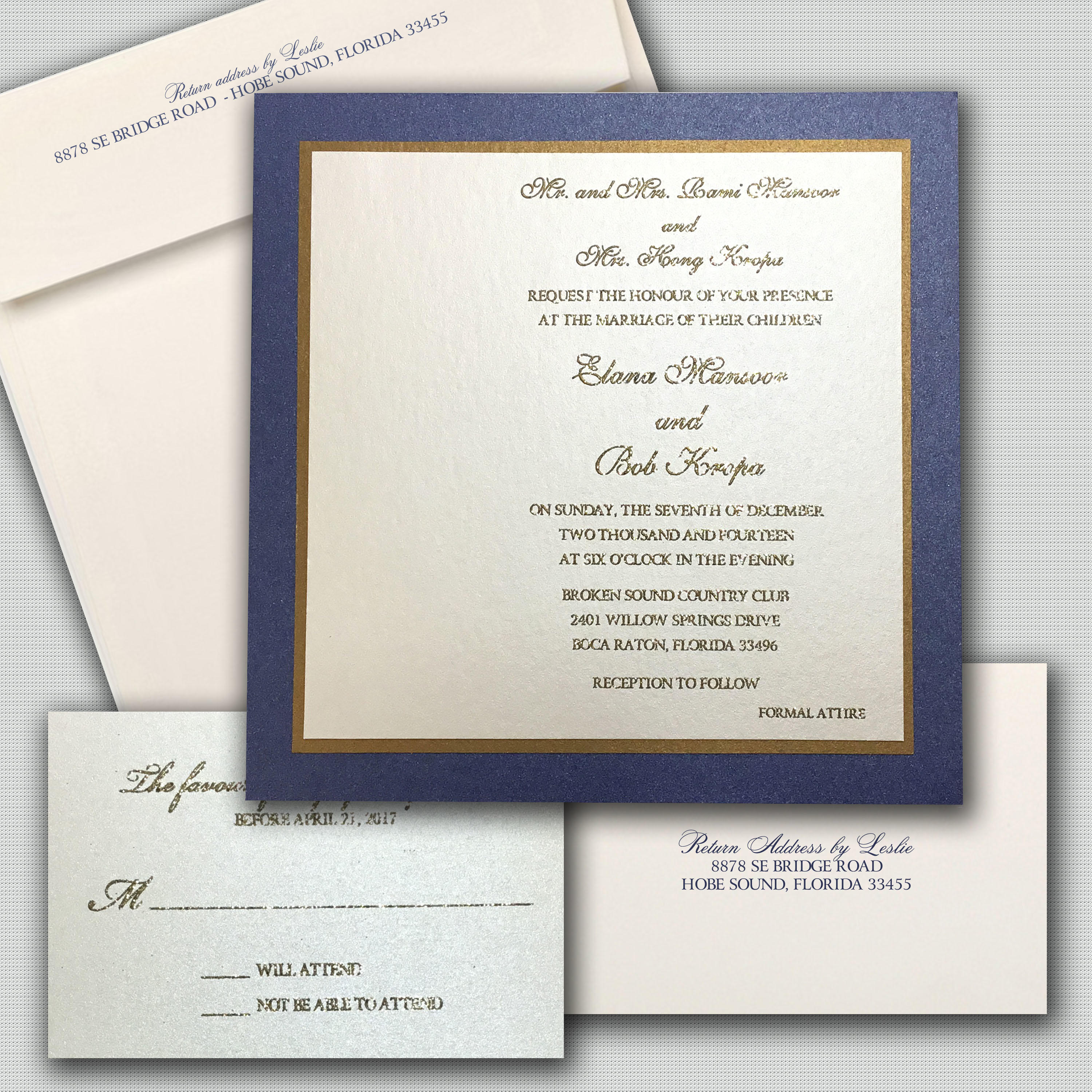 Leslie Store Wedding Invitations & Stationery image 13