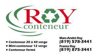 Conteneurs Roy