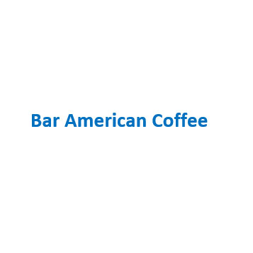 Bar American Coffee