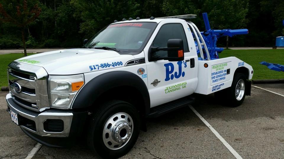 P.J.'s Towing