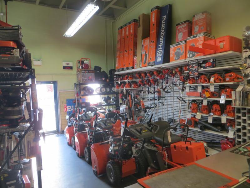B & L Small Motors in Kamloops: lots of stock in store!