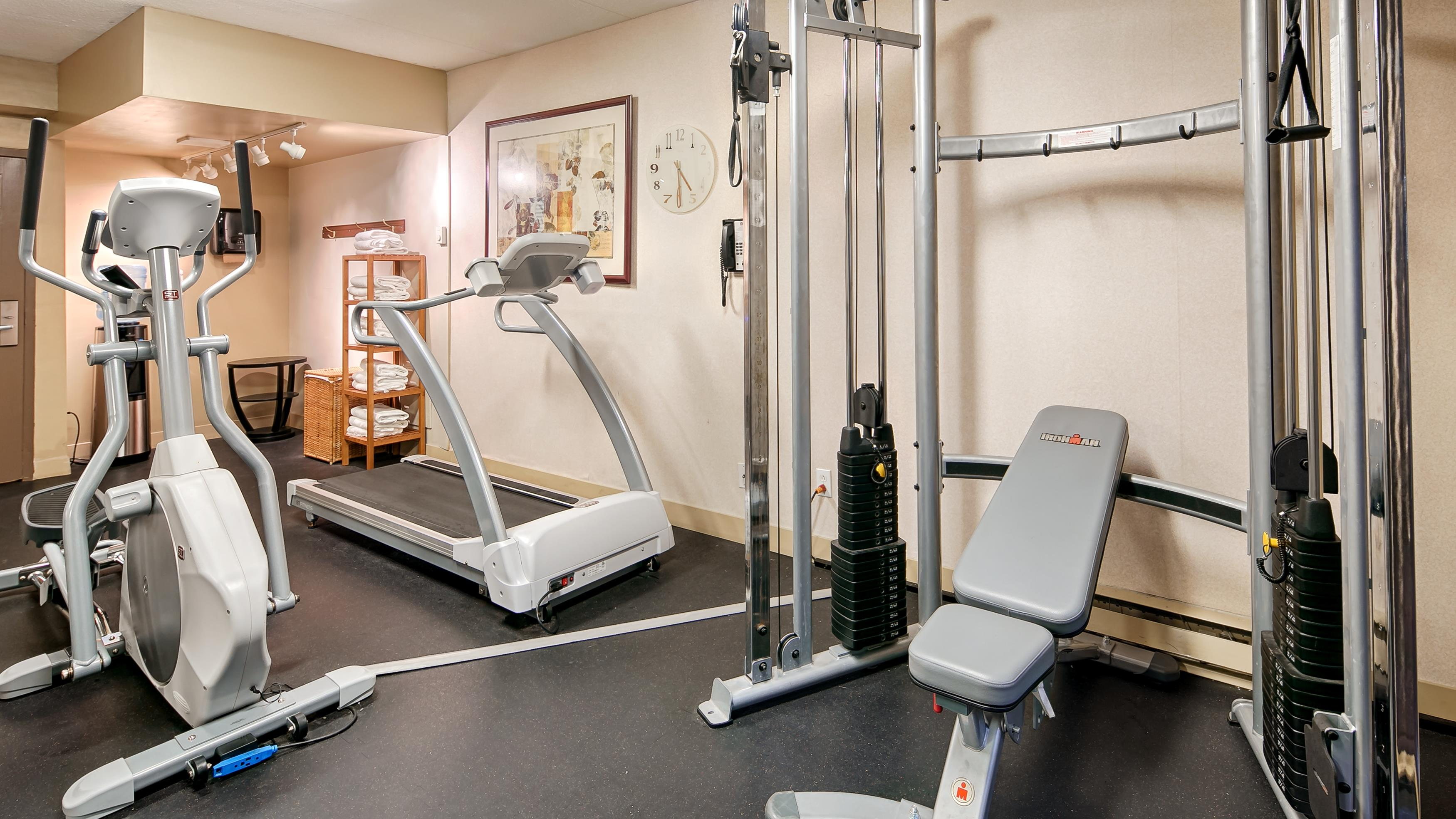 Best Western Laval-Montreal à Laval: Fitness Center