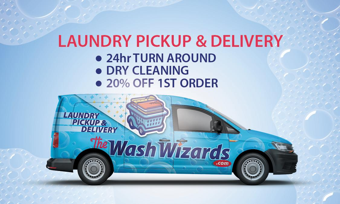 Wash Wizards Laundry Pickup & Delivery Service - Oxnard image 1