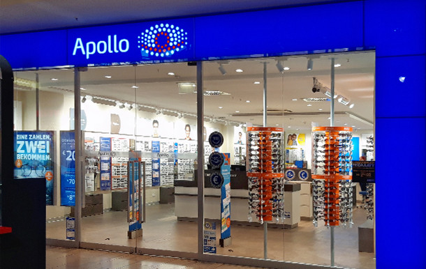 Apollo-Optik, Limbecker Platz 1A in Essen