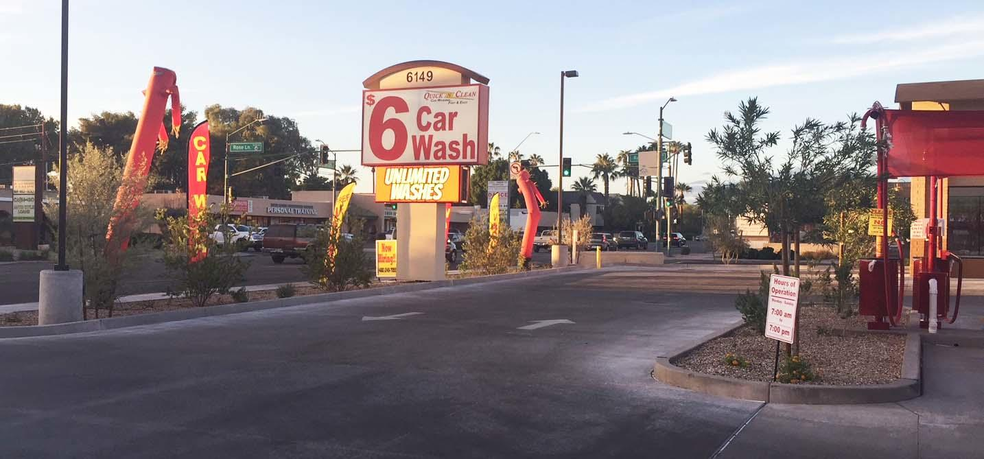 Quick N Clean Car Wash - CENTRAL PHOENIX - GRAND OPENING! image 1