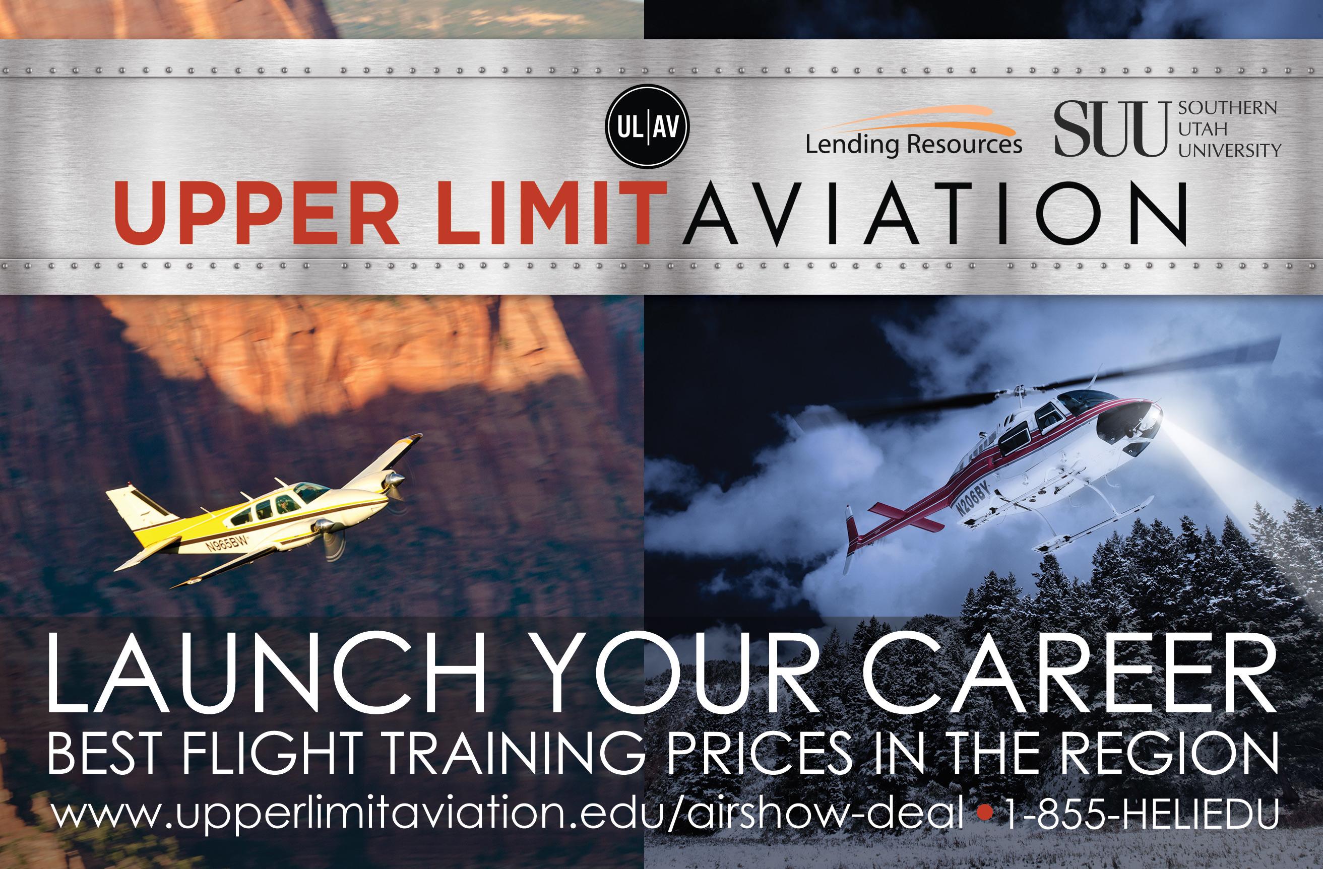 Upper Limit Aviation - ad image