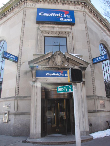 Capital One Bank at 201 Newark Ave, Jersey City, NJ on Fave