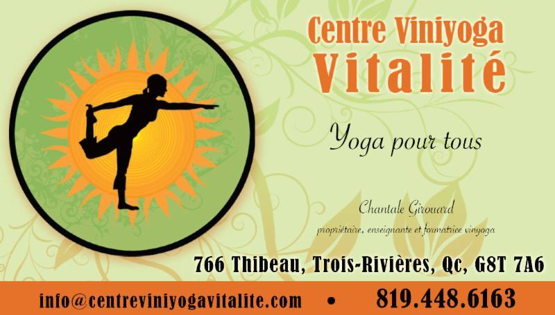 Centre Viniyoga Vitalité