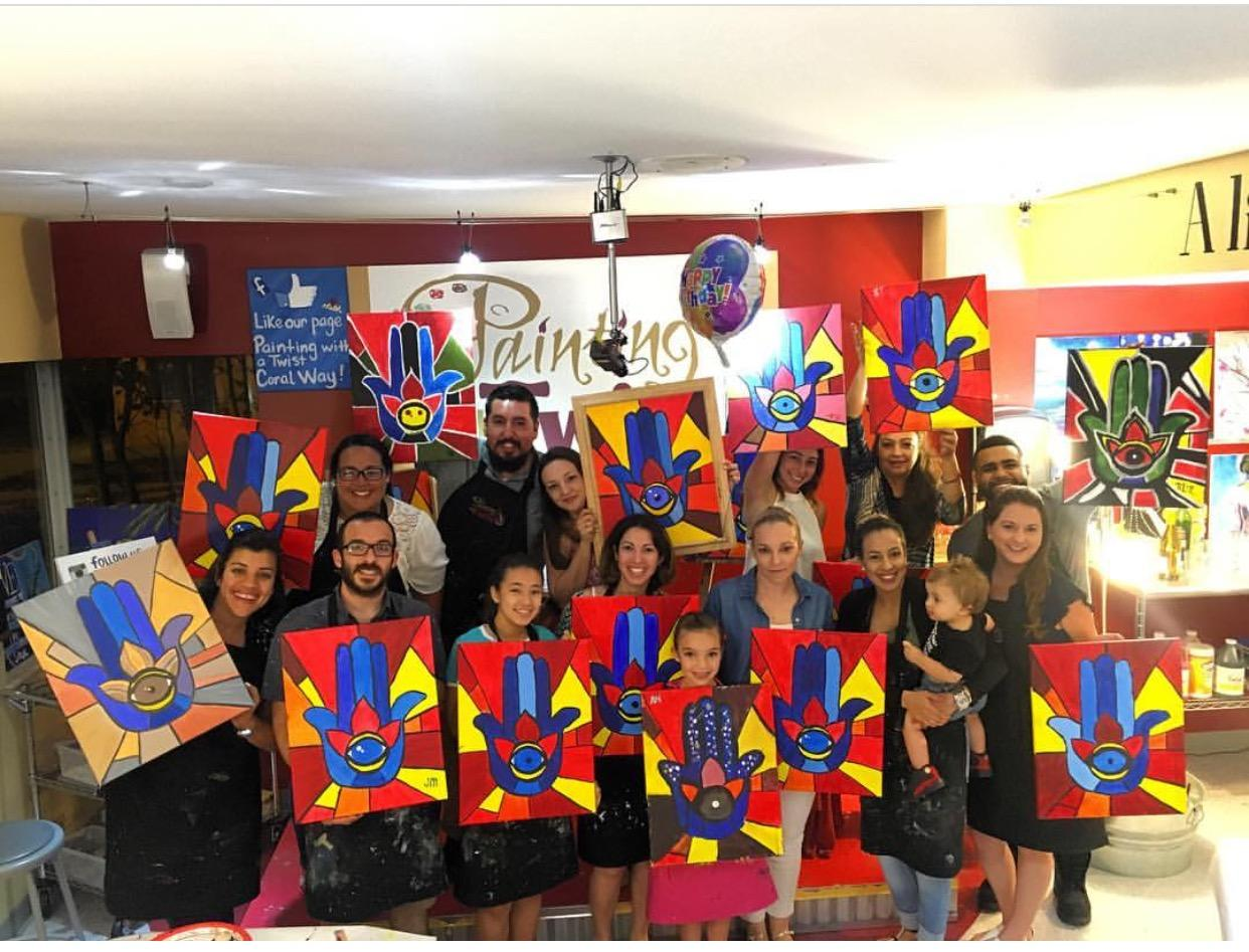 painting with a twist arts organizations information florida